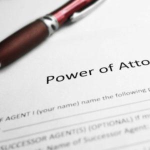 Power of Attorney (PoA)